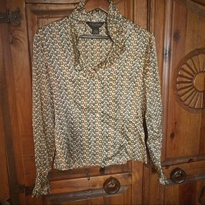 Brooks Brothers Classic 100% Silk Blouse